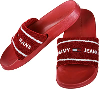 82fb3cc83565f Tommy Jeans Beach Slide W Bath Slippers  Amazon.co.uk  Shoes   Bags