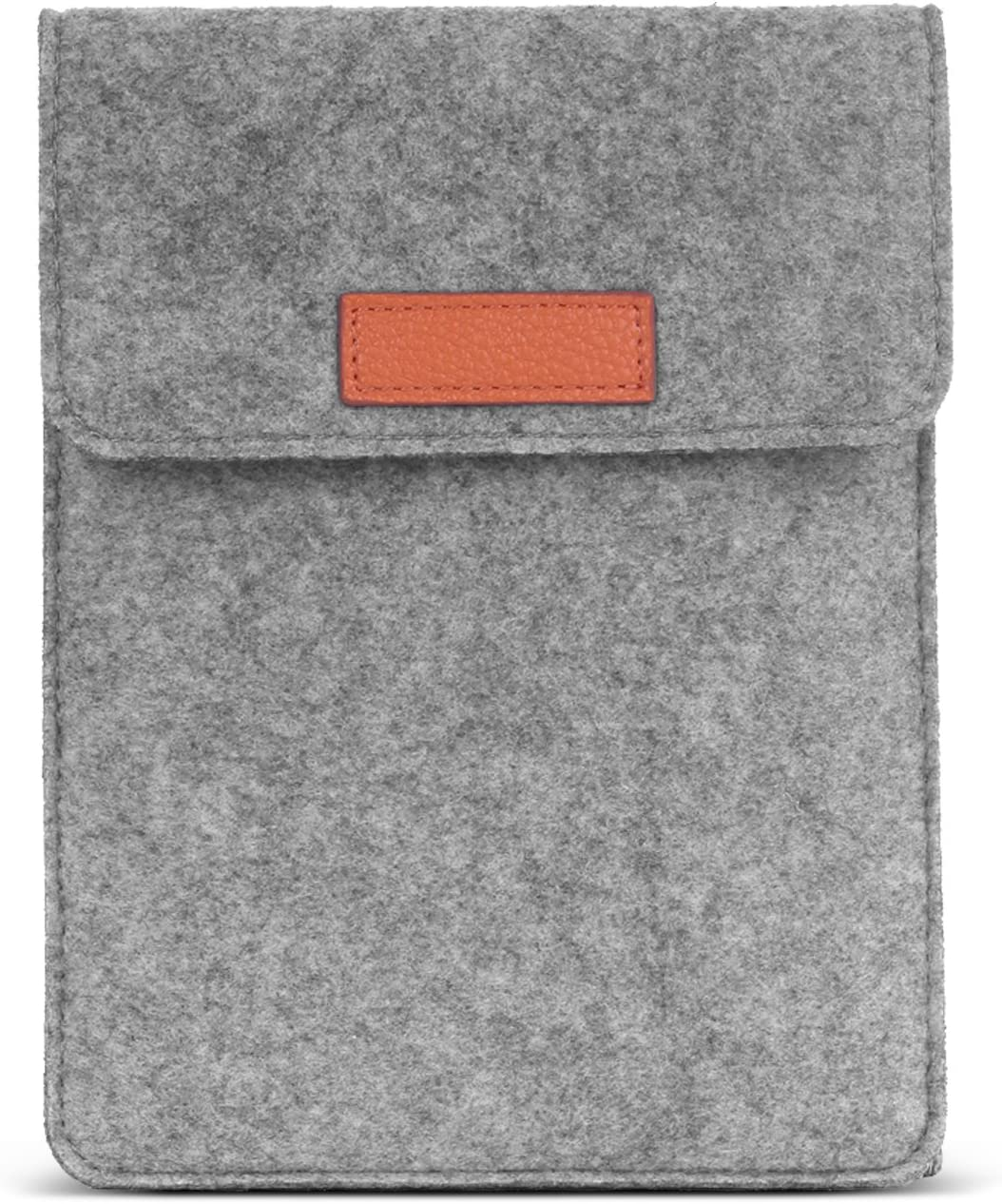 MoKo Sleeve for Kindle Paperwhite/Kindle Voyage, Protective Felt Cover Case Pouch Bag for Amazon Kindle Paperwhite/Voyage/Kindle(8th Gen, 2016) / Kindle Oasis 6-Inch E-Reader, Light Gray