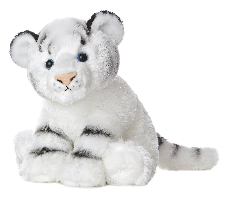 Amazon Com Aurora World Destination Nation White Tiger Plush 12