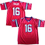ab8046f415e The Replacements #16 Shane Falco Washington Sentinels Movie Football Jersey  Red