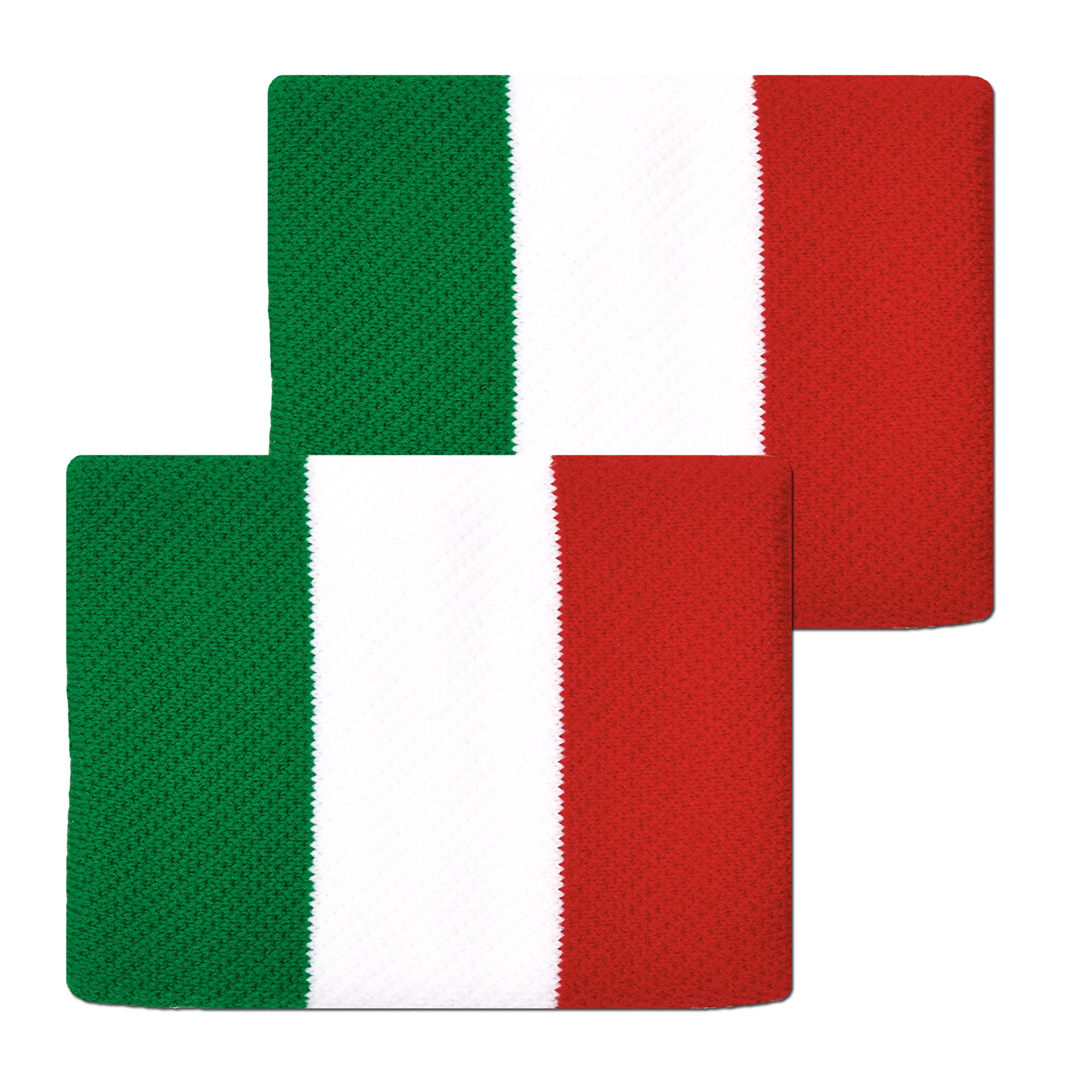 Unique Sports Flag Wristbands, Italy, One Size