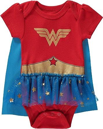 Wonder Woman DC comics Custom Gerber Onesie CUTEaf infant-toddler Free Shipping Customization Available