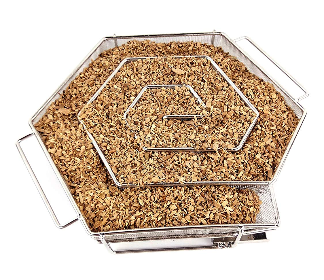 Nak Cold Smoke Generator for BBQ Grill or Smoker Wood Chips dust Hot and Cold   Smoking Salmon Meat Burn by NAK