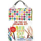Kid Made Modern On-The-Go Drawing Kit - Kids Sketching Set | Arts & Crafts Supplies