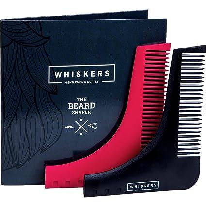 Herramienta Para Dar Forma A La Barba Con Tijeras Para La Nariz Y Guía De Usuario