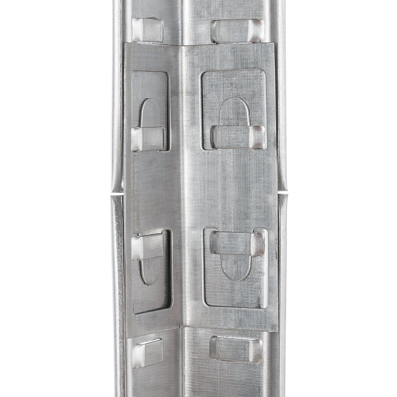 90 x 60 x 200 cm 875 kg Tragkraft//Einfache Montage durch Stecksystem Arebos Schwerlastregal