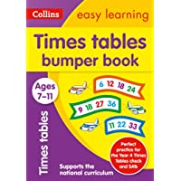 Times Tables Bumper Book Ages 7-11: Ideal for Home Learning
