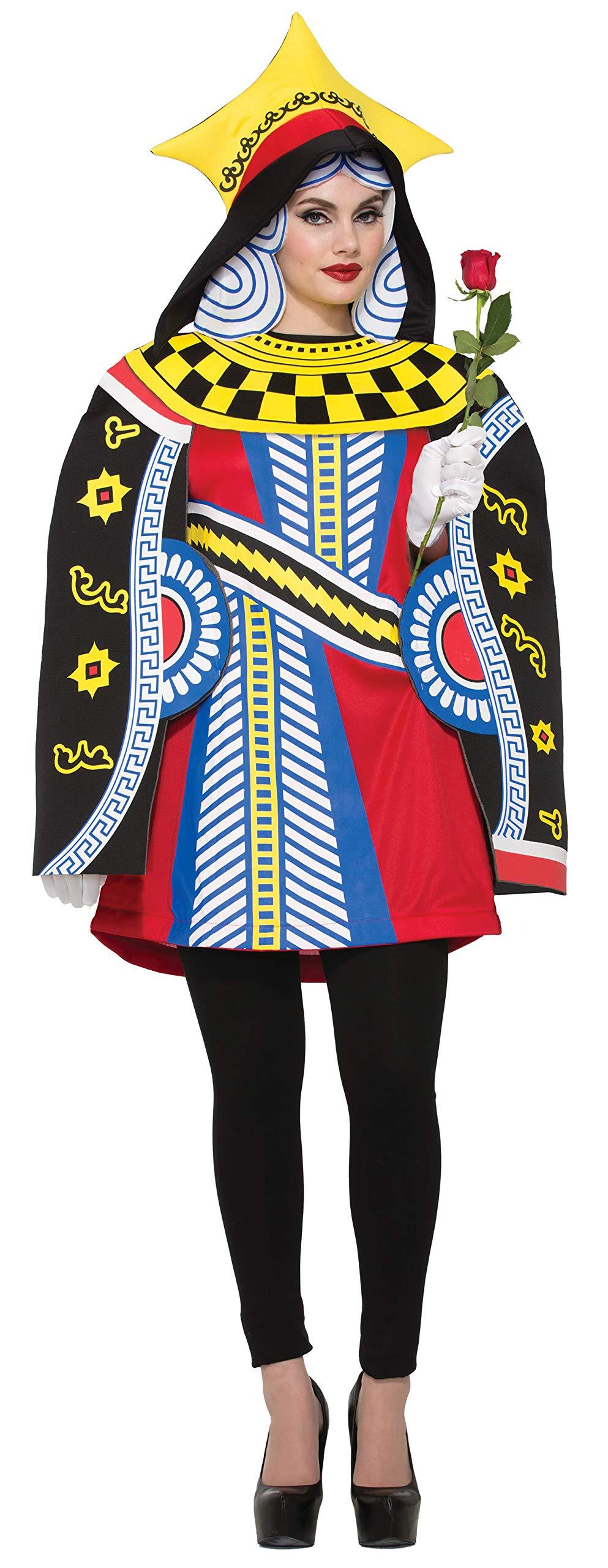 Forum Women's Queen Cards Costume, As Shown, Standard