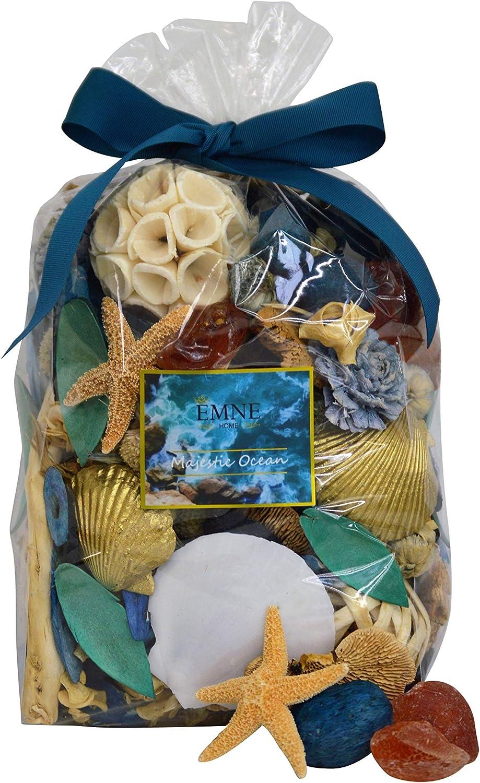 엠네 홈 장엄한 오션 포푸리 박스   아름다운 해상 식물  12온스 박스   미국에서 만든 핸드메이드