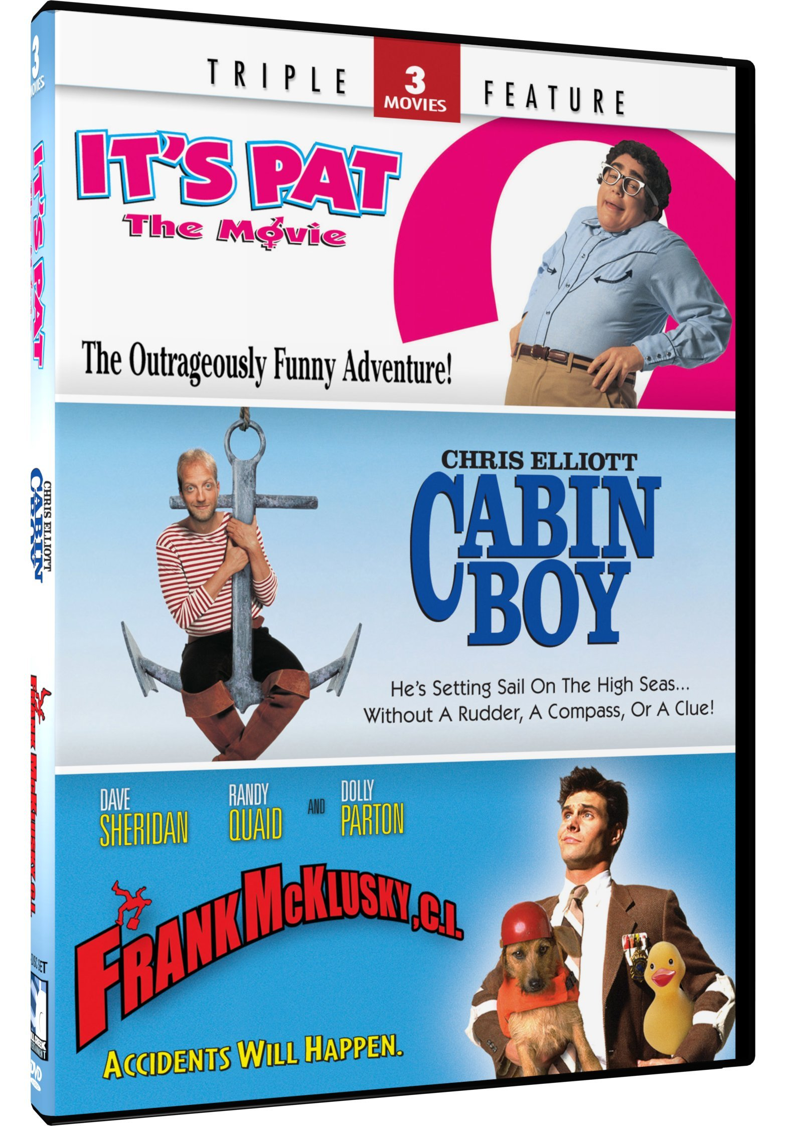 It's Pat / Cabin Boy / Frank McKlusky, C.I. (Triple Feature)