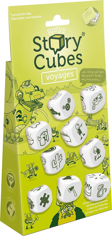 Asmodee Story Cubes: Viajes - Todas las versiones disponibles, Multilenguaje (ASMRSC03ML1)
