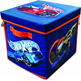 Hot Wheels ZipBin 300 Car Storage Cube and Playmat