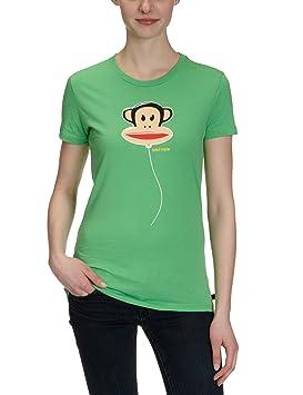 Paul Frank - Camiseta de running para mujer, tamaño M, color verde: Amazon.es: Deportes y aire libre