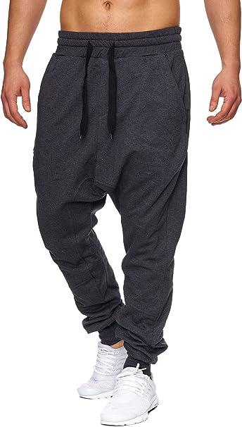 Tazzio Fashion Herren Jogginghosen Anthrazit
