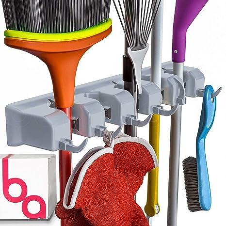 Amazon.com: Berry Ave - Soporte para escoba y herramientas ...