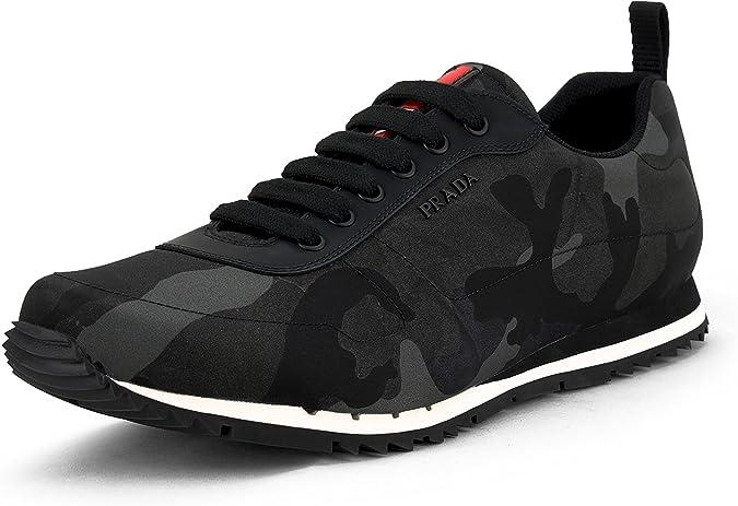 Nylon Camo Sneaker, Camo 4E3220