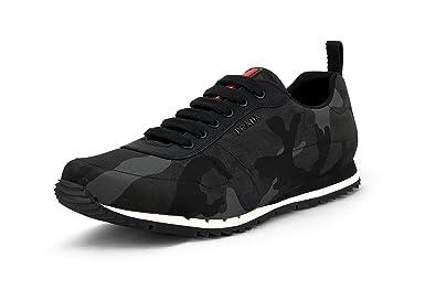 74872f446243c Amazon.com | Prada Men's Nylon Camo Sneaker, Camo 4E3220 | Fashion ...