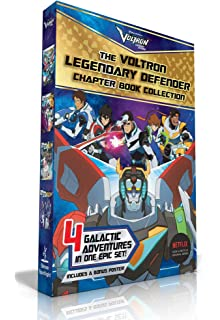 The Voltron Legendary Defender Chapter Book Collection: The Rise of Voltron; Battle for the
