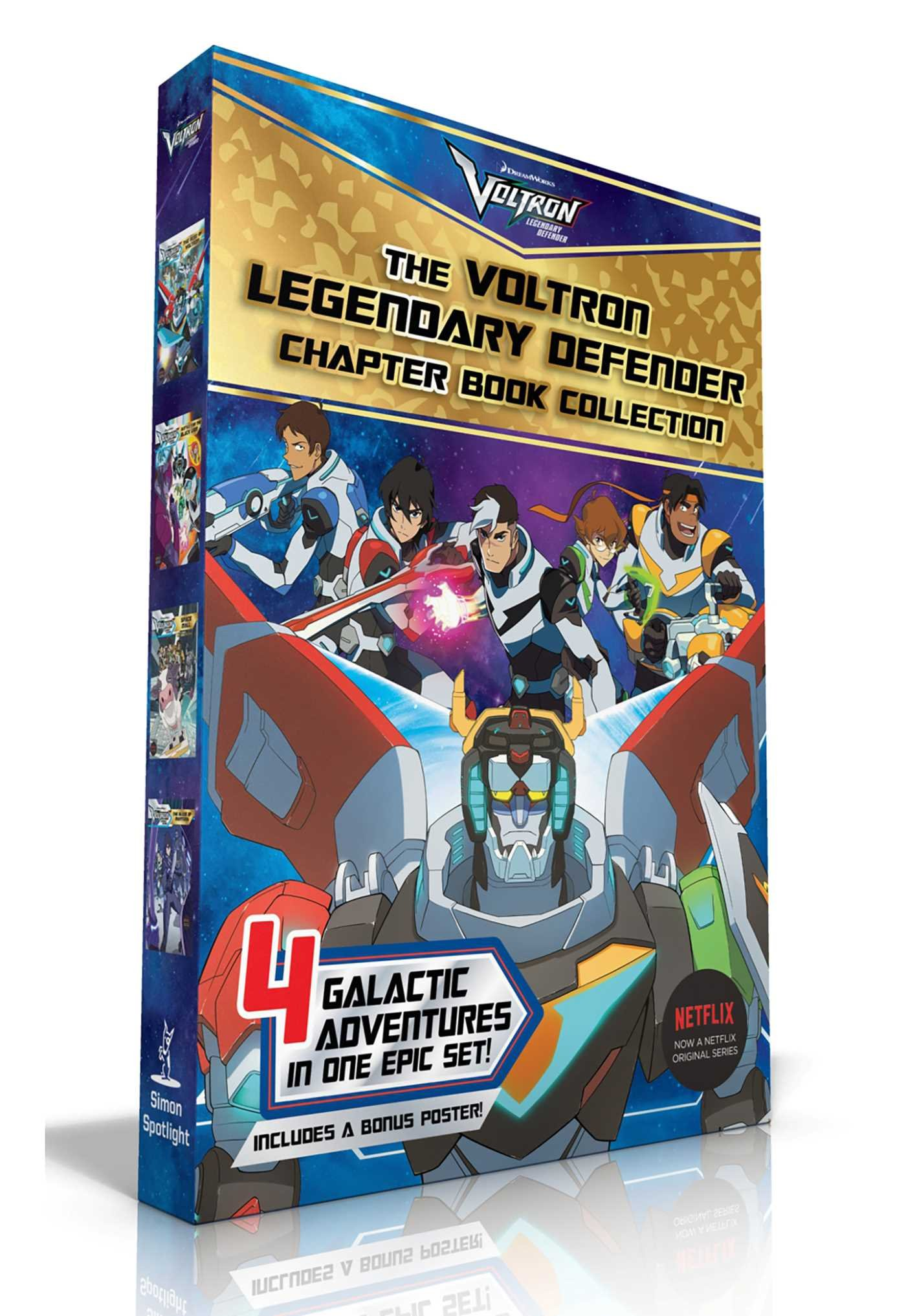 amazon the voltron legendary defender chapter book collection the