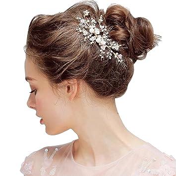Amazon Com 70ily Woomen Prom Party Headband Gols Leaves Bridal