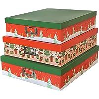 SLPR Cajas de cartón Decorativas para almacenaje