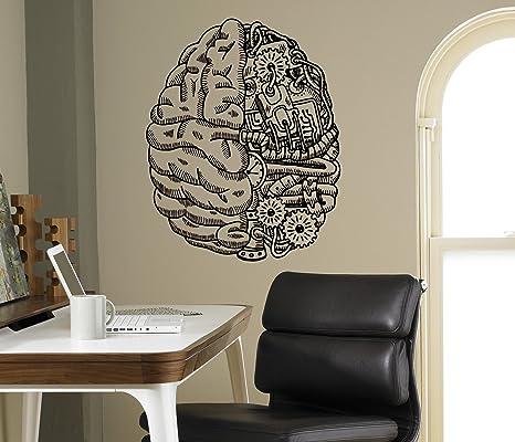 Amazon Cyber Brain Wall Vinyl Decal Droid Robot Wall Sticker