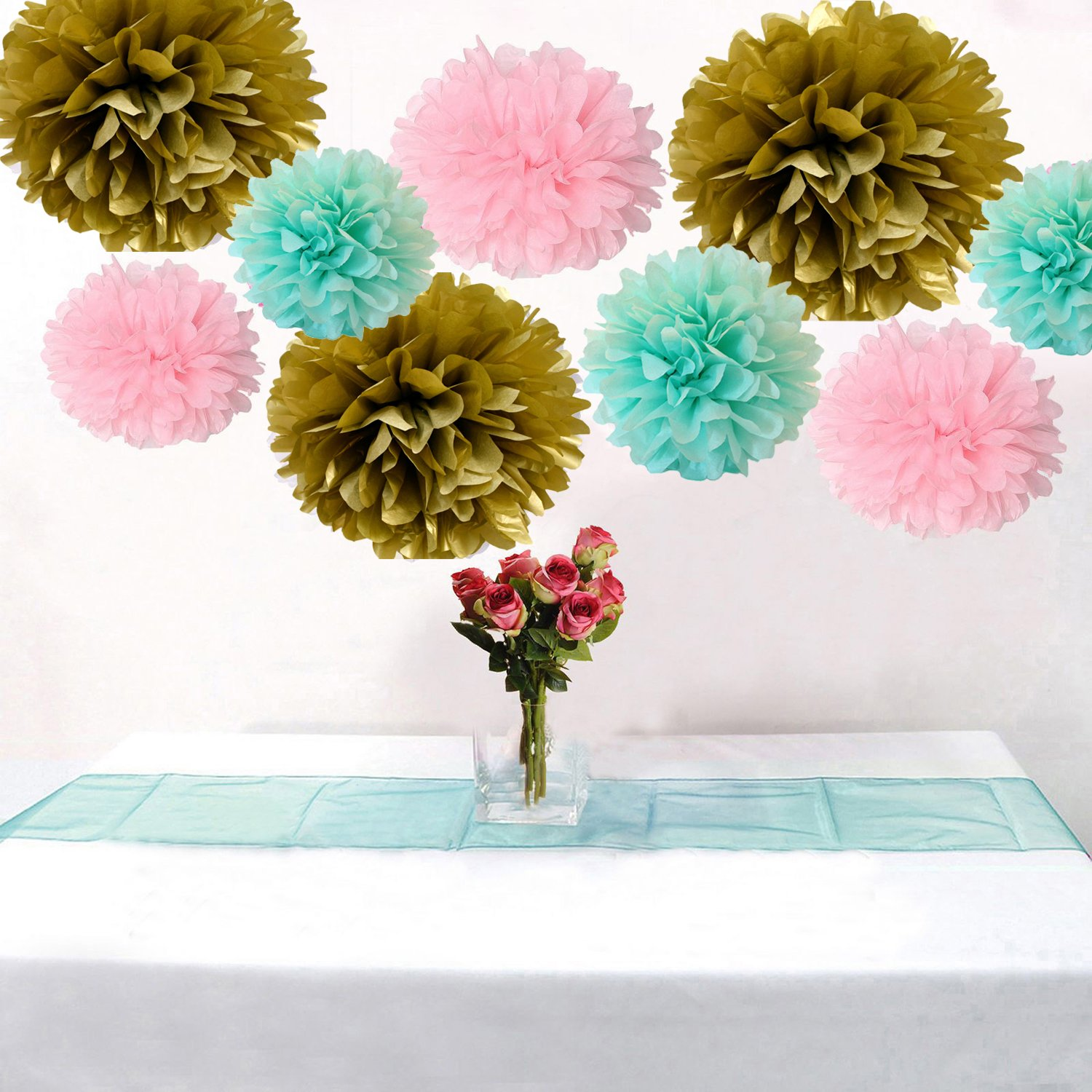 paper pom poms for sale Paper pom poms are whimsical balls of fluffy pieces of tissue paper for an effect that's endlessly charming they are one of the most popular decorative accents used for weddings, birthdays, proms, school functions, and any other festive occasion.