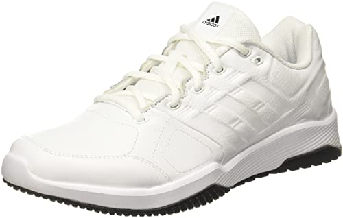 db183baa499c Adidas Men s Duramo 8 Leather Ftwwht Gretwo Silvmt Leather Multisport  Training Shoes - 10