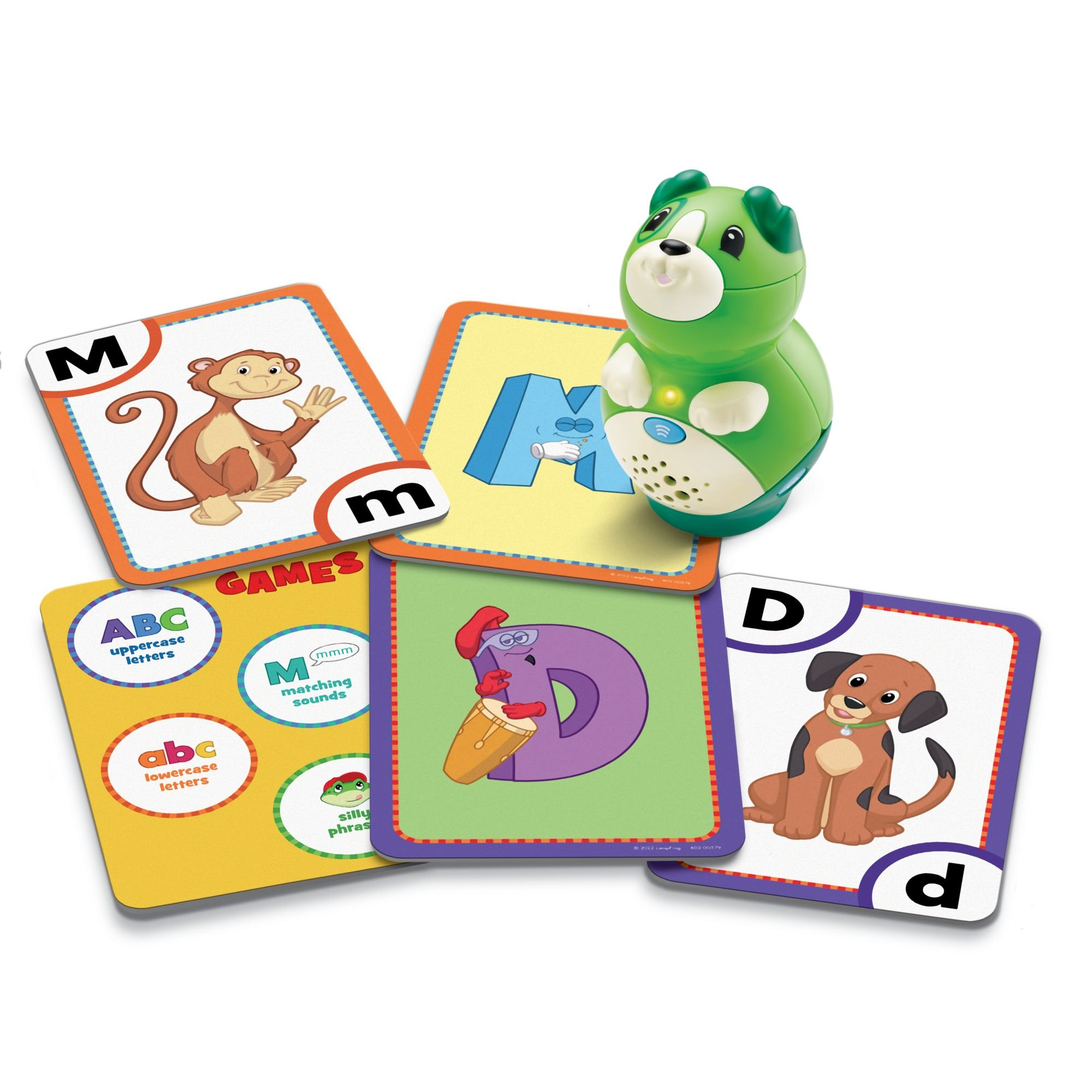 LeapFrog LeapReader Junior Interactive Letter Factory Flash Cards (works with Tag Junior) by LeapFrog (Image #2)