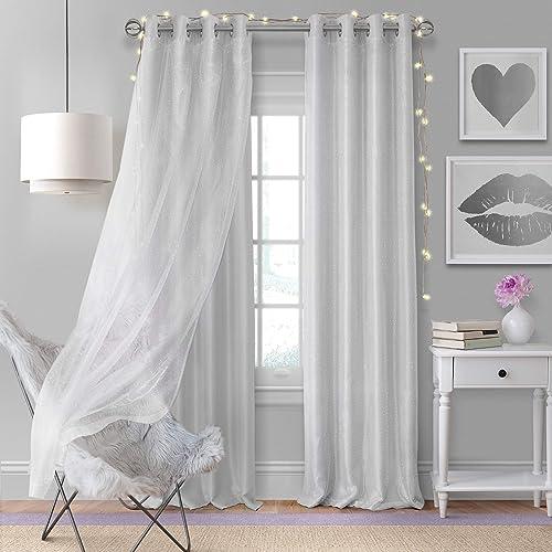 Elrene Home Fashions Aurora Solid Faux Silk