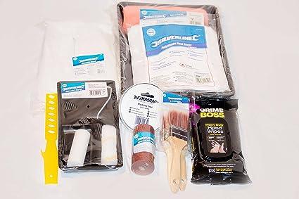 PINTURA para hacer y decorar 16 piezas El kit incluye 230 mm Rodillo de pintor kit
