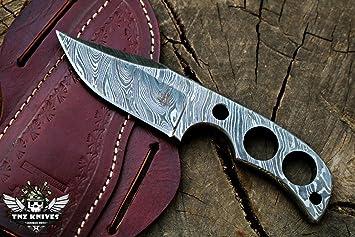 TNZ-216 cuchillo de damasco de 7 pies de largo 3.5 pulgadas ...