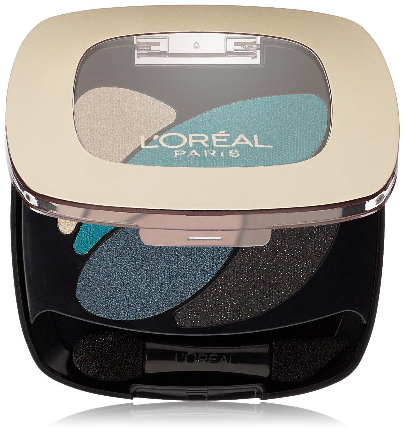 L'Oréal Paris Colour Riche Dual Effects Eye Shadow, Emerald Conquest, 0.12 oz.