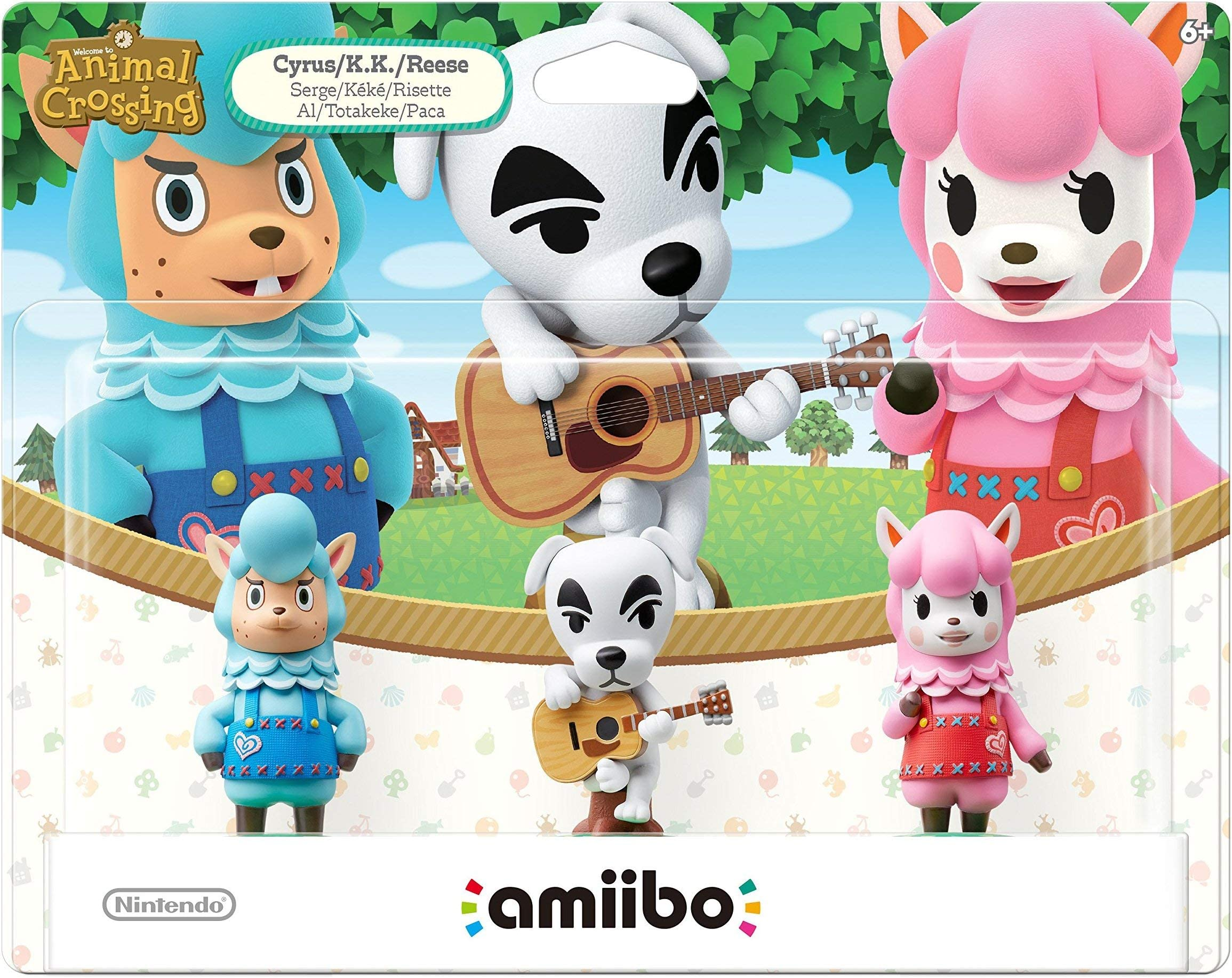 Animal Crossing Series 3 Pack Amiibo (Animal Crossing Series) by By    Nintendo