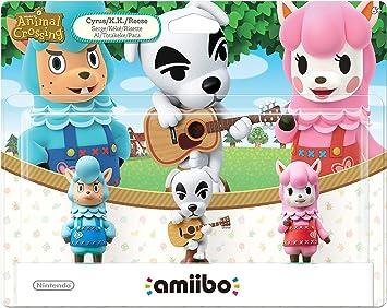 Animal Crossing Series 3-Pack Amiibo (Animal Crossing Series) by ...