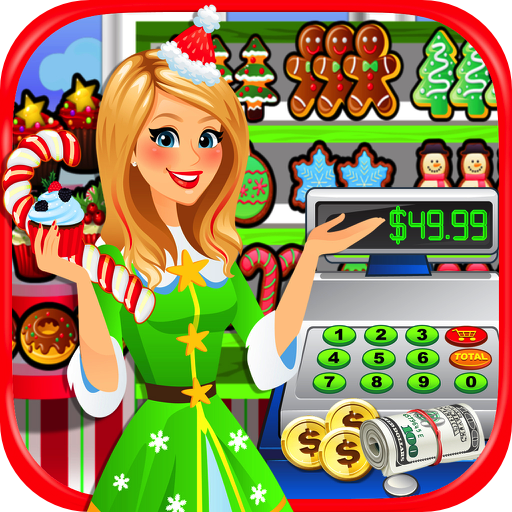Supermarket Christmas - Kids Grocery Store & Cash