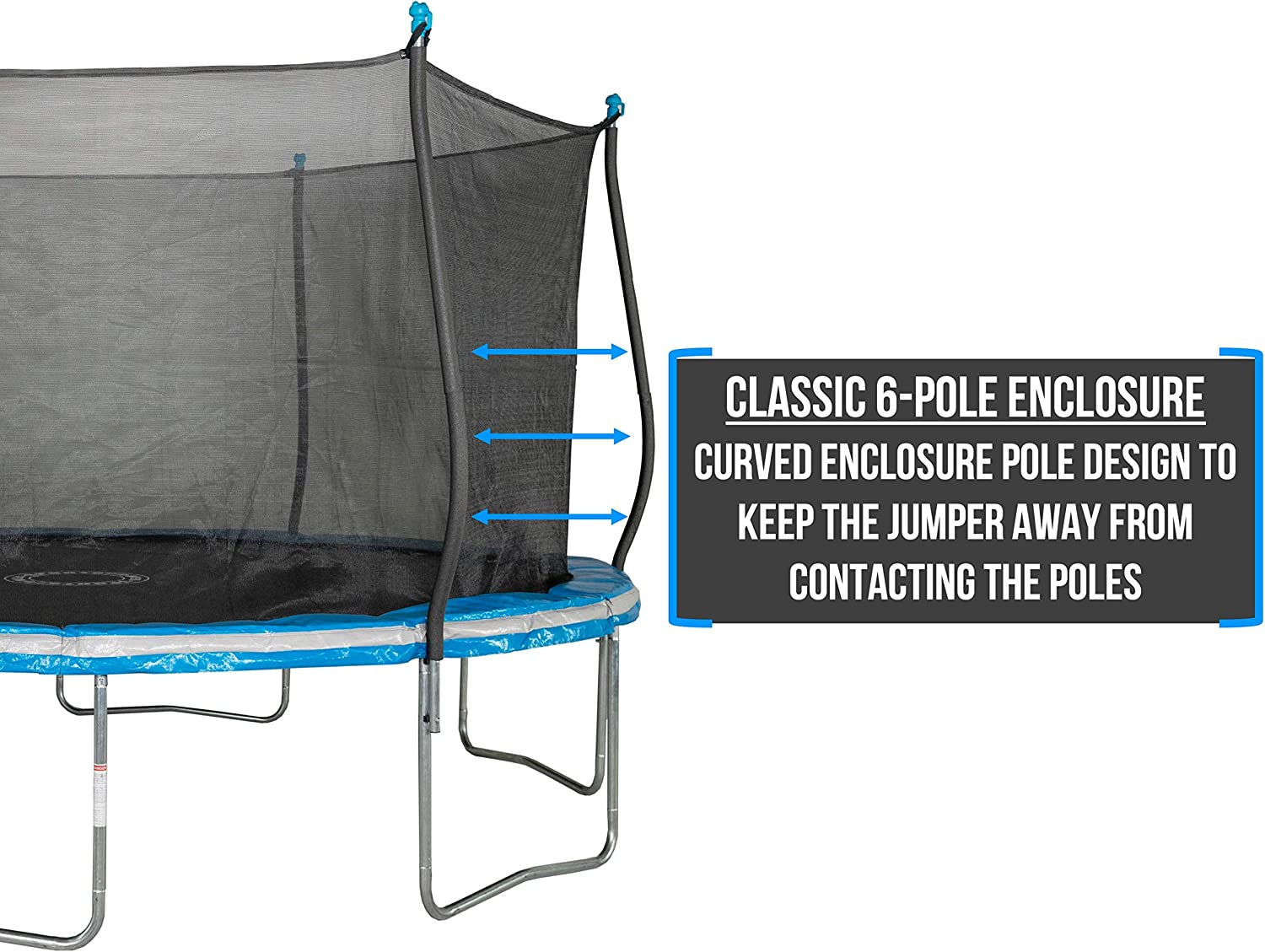 Bounce Pro 14 Ft Trampoline with enclosure