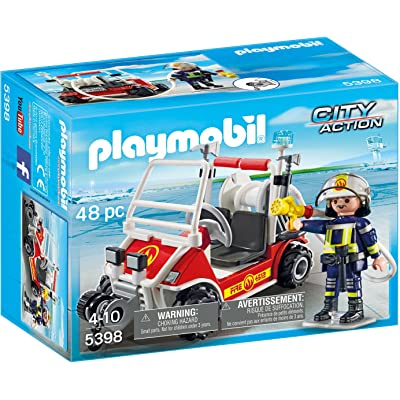 Playmobil Fire Quad Building Set: Playmobil: Toys & Games