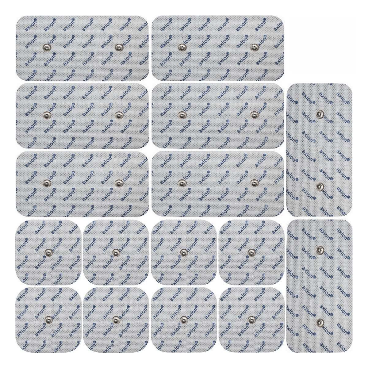 electrodos para Compex TENS EMS xmm  xmm  Almohadillas conexión de