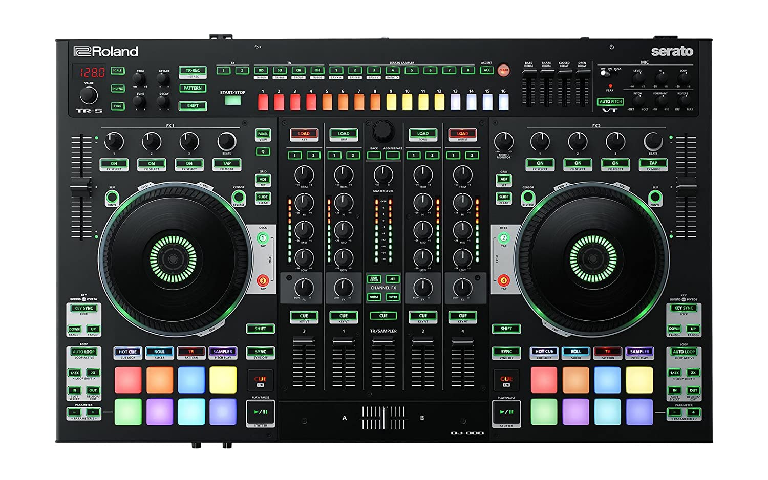 Roland Four-channel, Two-Deck Serato DJ Controller Black Friday Deals 2020