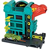 Hot Wheels FRH28 City Downtown Play Set, Multi-Colour, GFY69