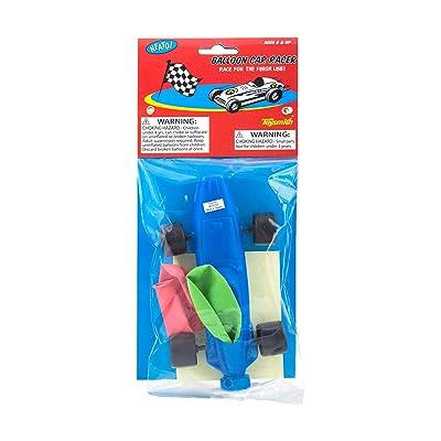 Toysmith Balloon Car Racer: Toys & Games