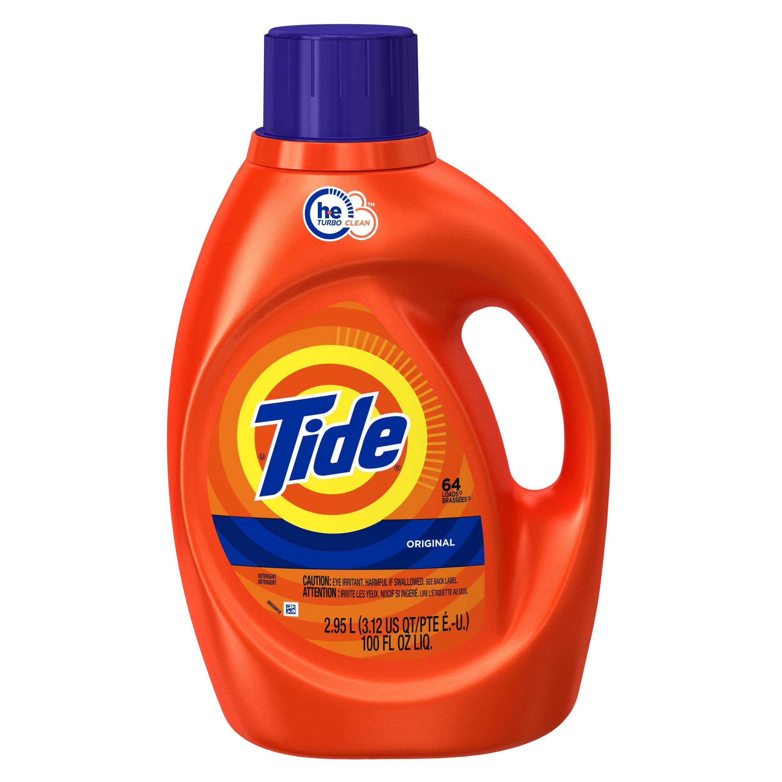 tide detergent, 100 Oz
