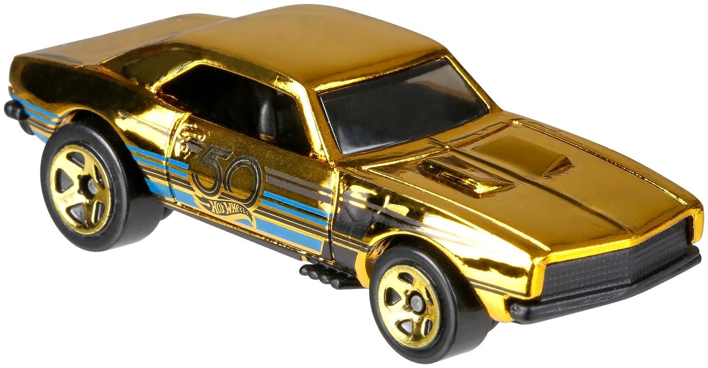 Hot wheels th anniversary black gold camaro