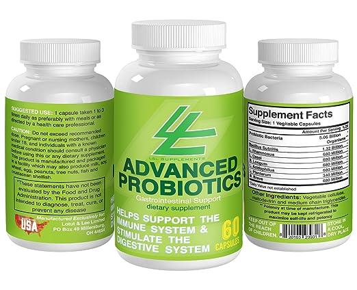 L&L Supplements Advanced Probiotics Dietary Supplement - 60 Capsules