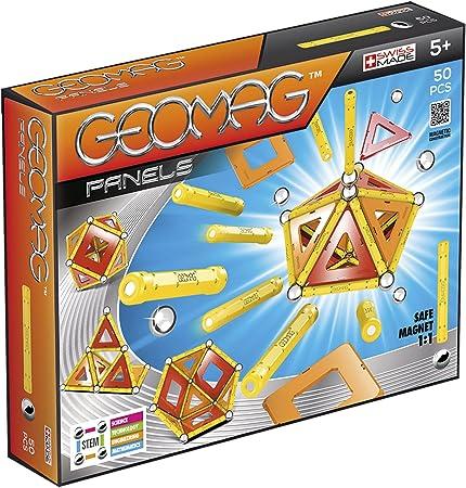 TALLA 50 piezas. Geomag Classic Panels Juego de Construcción Educativo, 50 piezas (461), Multicolor