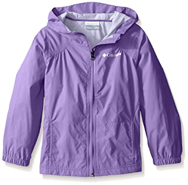 a52aaa372 Columbia Girls' Toddler Switchback Rain Jacket, Grape Gum, ...