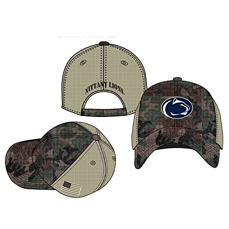 41f14788ccb Image Unavailable. Image not available for. Color  Top of the World NCAA  Penn State Nittany Lions Declare Hat Camo Adjustable