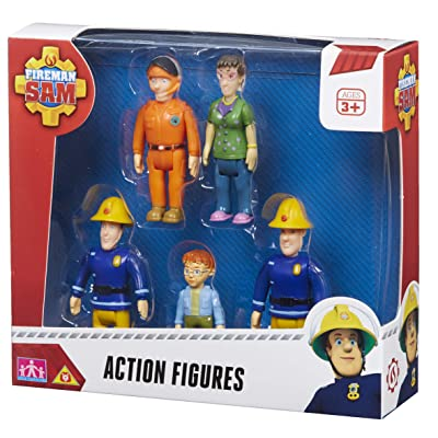 Character Options Fireman Sam Action Figures: Toys & Games [5Bkhe0507436]