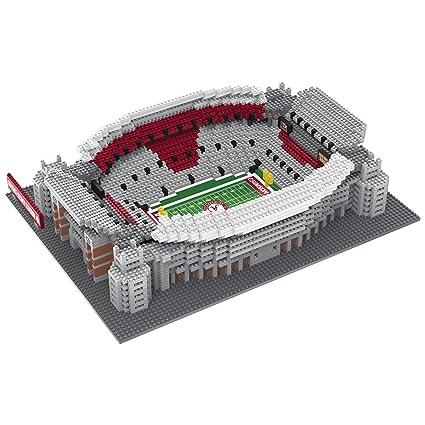311492f7e35 FOCO NCAA Alabama Crimson Tide 3D Brxlz Stadium Building Block Set3D Brxlz Stadium  Building Block Set